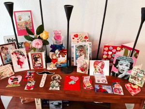 Last year's Valentines snail mail revival. So fun I can't resist doing it again.