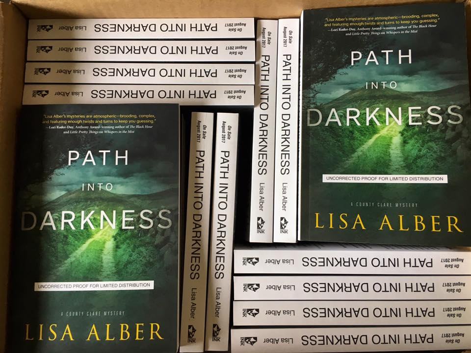 Path Into Darkness advanced reader copies